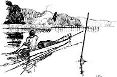 Sejlads i stammebåd