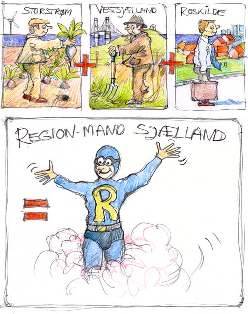 Da Regionmand Sjælland kom til verden!