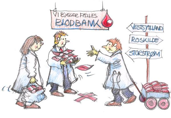 Amterne skal have fælles blodbank