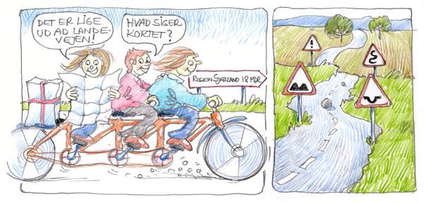 Vejen mod Region Sjælland