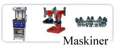 Maskiner, Blokke, Vacumm m.m.