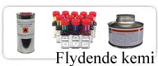 Acetone, Extrationsbenzin, Neotolfortynder, Kantfarve, narvsværte m.m.