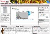 Visuel redigering - klik på det der skal redigeres og rediger direkte på hjemmesiden.